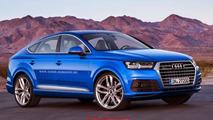 Audi Q8 render