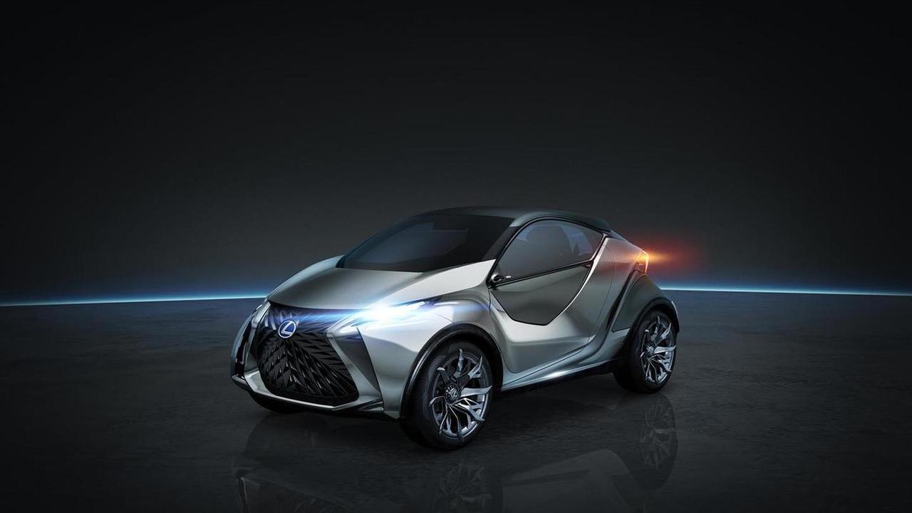 Концепт Lexus LF-SA 2015