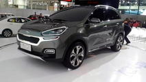 Kia KX3 live photo / moto.es
