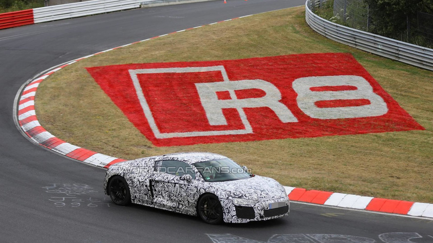 Audi R8 RS under consideration with a 5.2-liter V10 engine