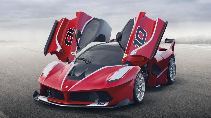 Ferrari FXX K officially revealed, has 1050 PS