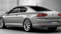 2015 Volkswagen Passat Coupe render render