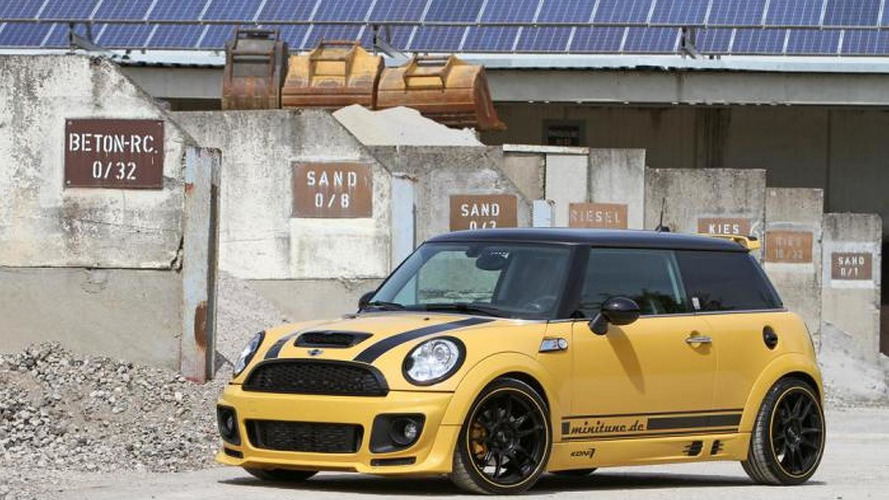 Minitune tunes the MINI Cooper S