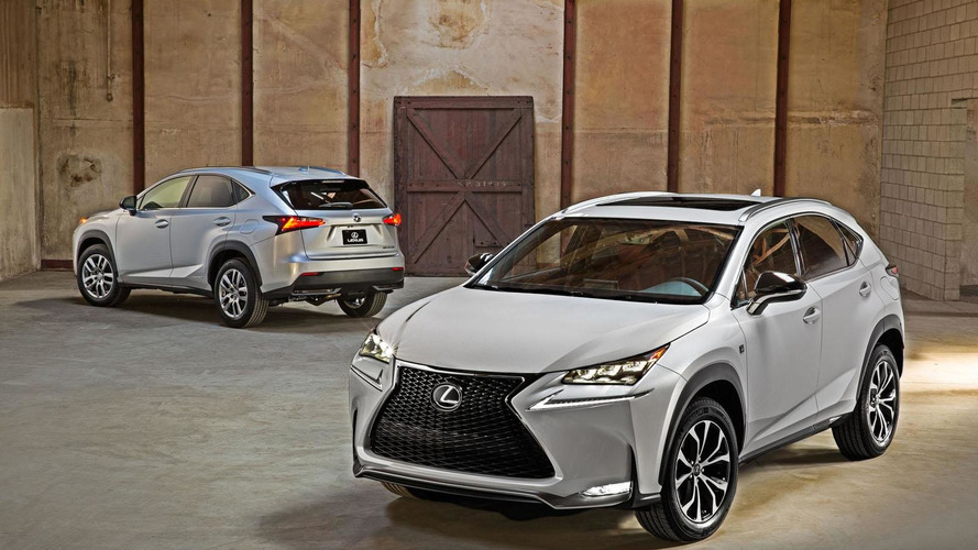 2015 Lexus NX starts at $34,480
