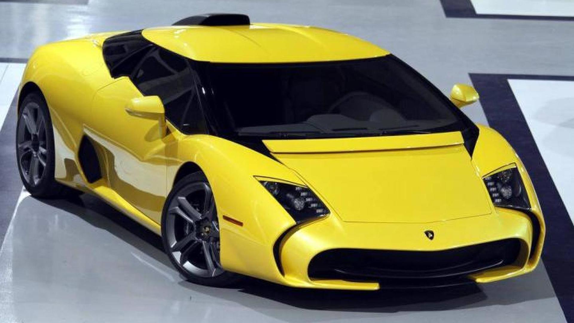 Lamborghini 5 95 Zagato With Pearl Yellow Paint Heading To Customer