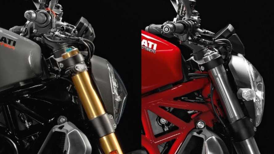 Ducati Monster 1200 2017 vs. 2016: come e dove cambia?