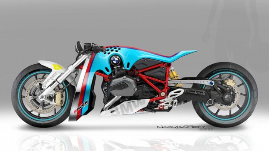 BMW R 1200 R Drag Bike by Nicolas Petit