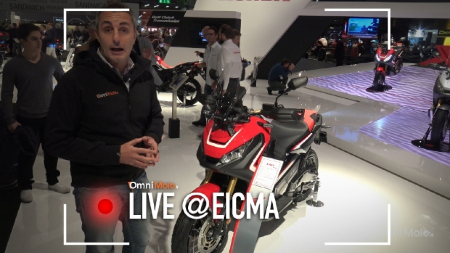 Honda X-ADV a EICMA 2016 [VIDEO]