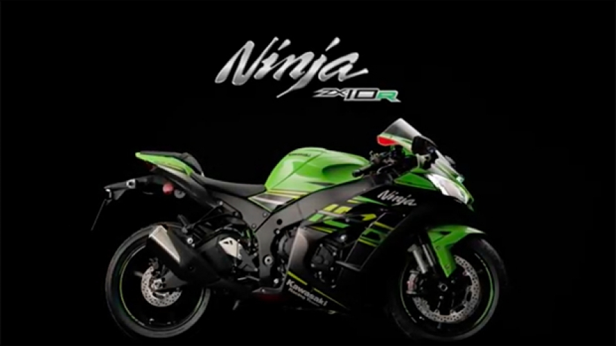 Kawasaki ZX-10R 2019, il video