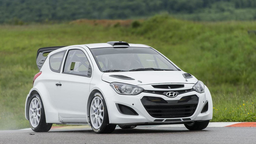 Hyundai i20 WRC begins testing