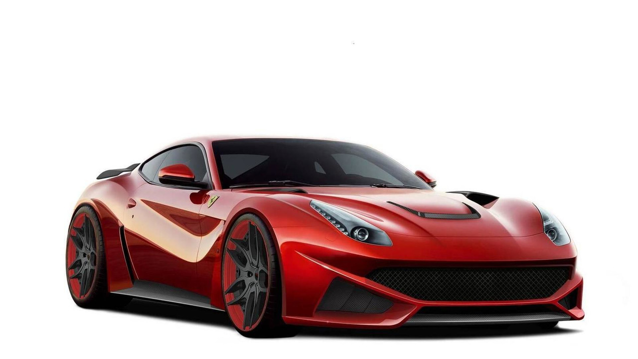 Novitec Rosso F12 N-LARGO based on Ferrari F12 Berlinetta