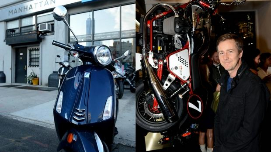 Piaggio: apre a New York, Vespa Manhattan