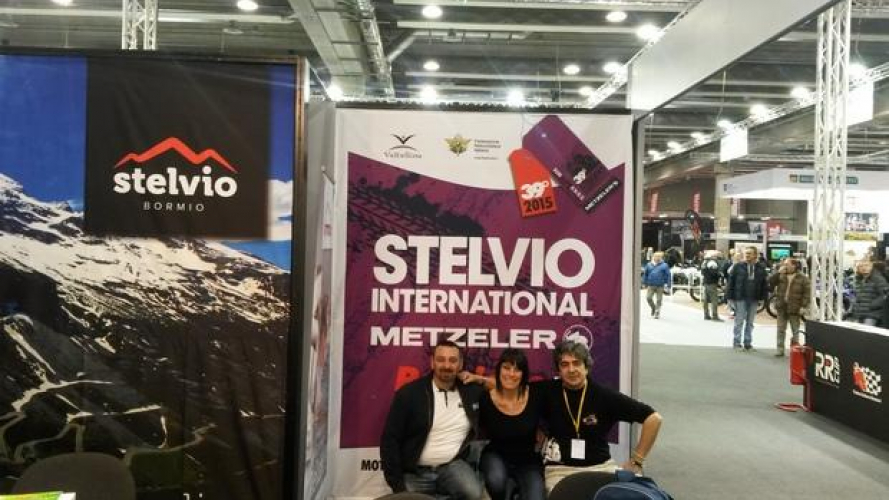 Stelvio International Metzeler al Motor Bike Expo 2016