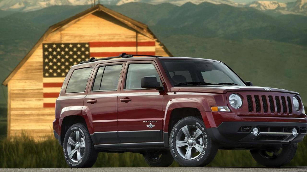 2013 Jeep Patriot Freedom Edition 12.11.2012