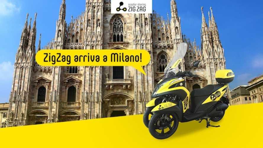 Zig Zag Scooter Sharing, il servizio è attivo anche a Milano