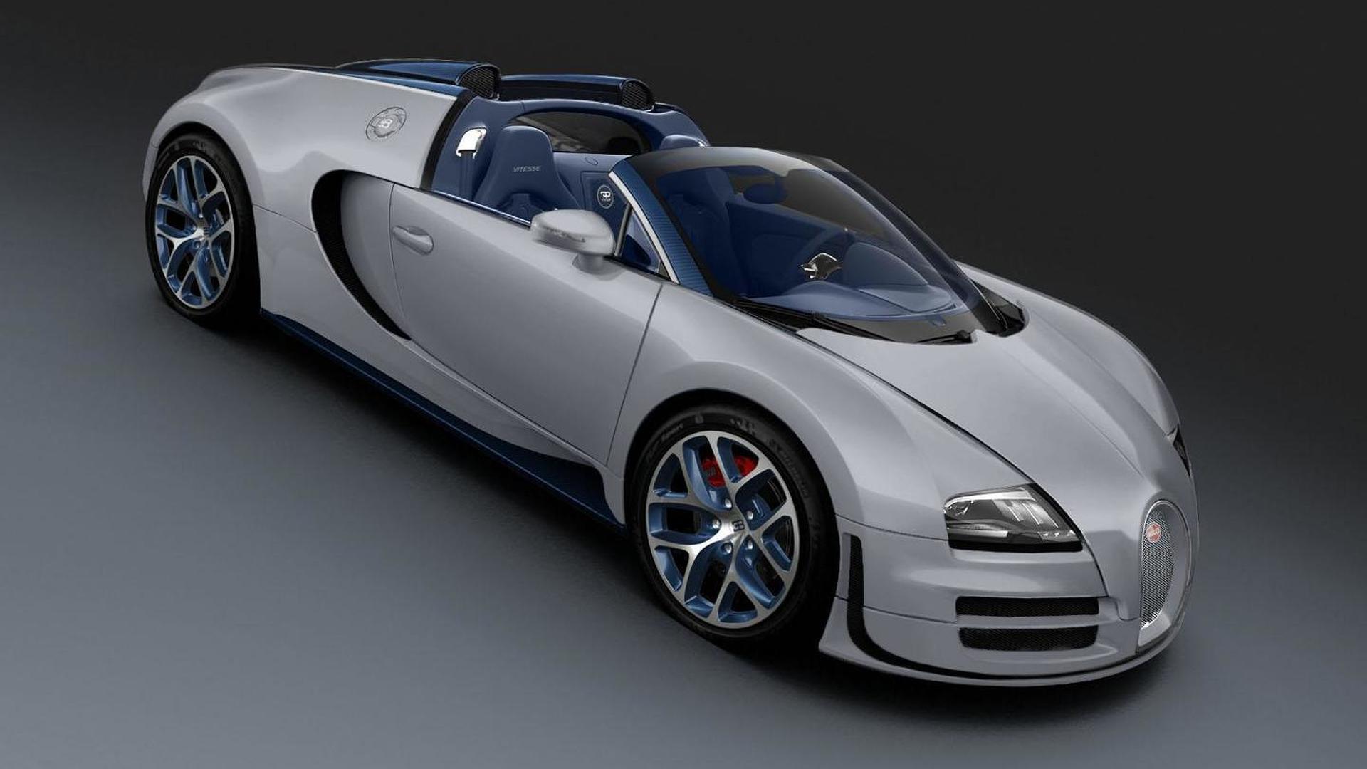 Bugatti Veyron 16 4 Grand Sport Vitesse Rafale Special Edition Bows