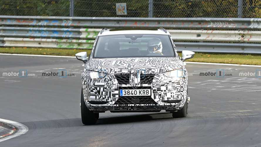 Cupra Ateca Spy Photos