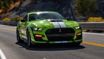 test mustang shelby gt500 2020