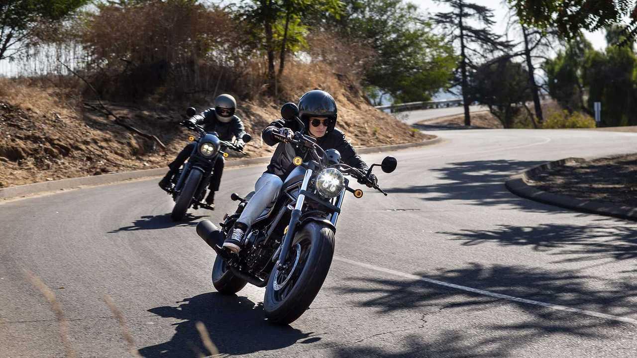 Honda Rebel 300 And 500