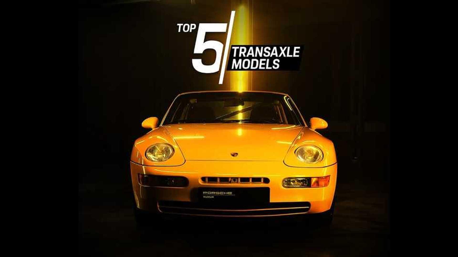 Porsche Creates Top 5 Of Its Best Transaxle Models