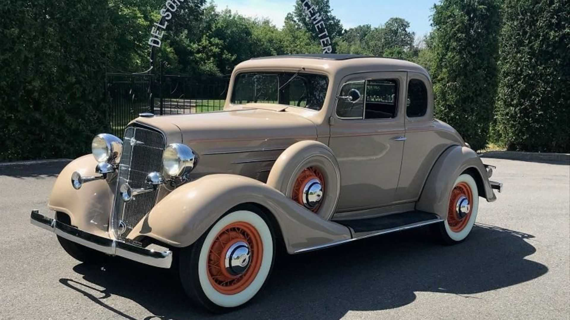 "[""Same Family Has Owned 1934 Chevy Master Coupe For 76 Years""]"