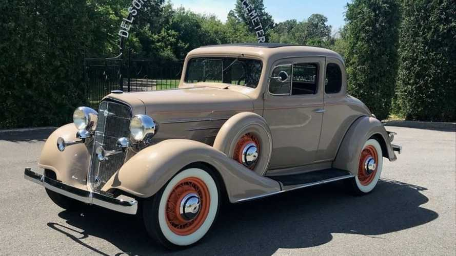 Same Family Has Owned 1934 Chevy Master Coupe For 76 Years