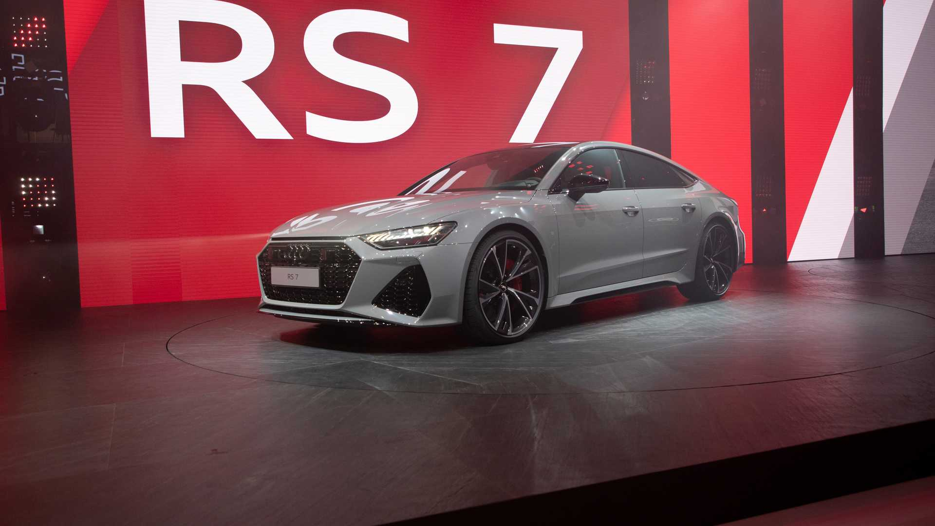 2020 Audi RS7 Sportback at the 2019 Frankfurt Motor Show