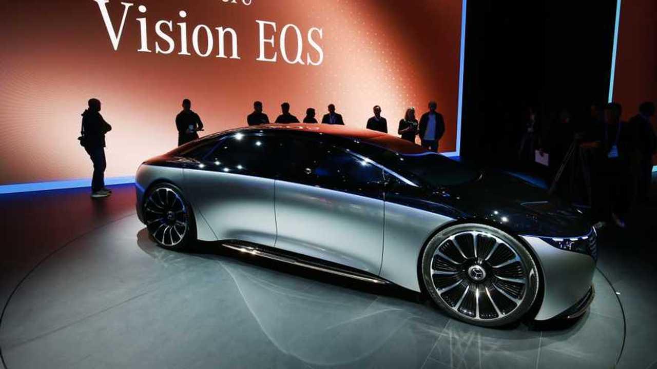Mercedes-Benz Vision EQS Concept: Frankfurt 2019