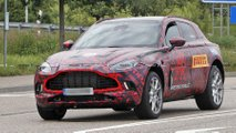 aston martin dbx spy shots
