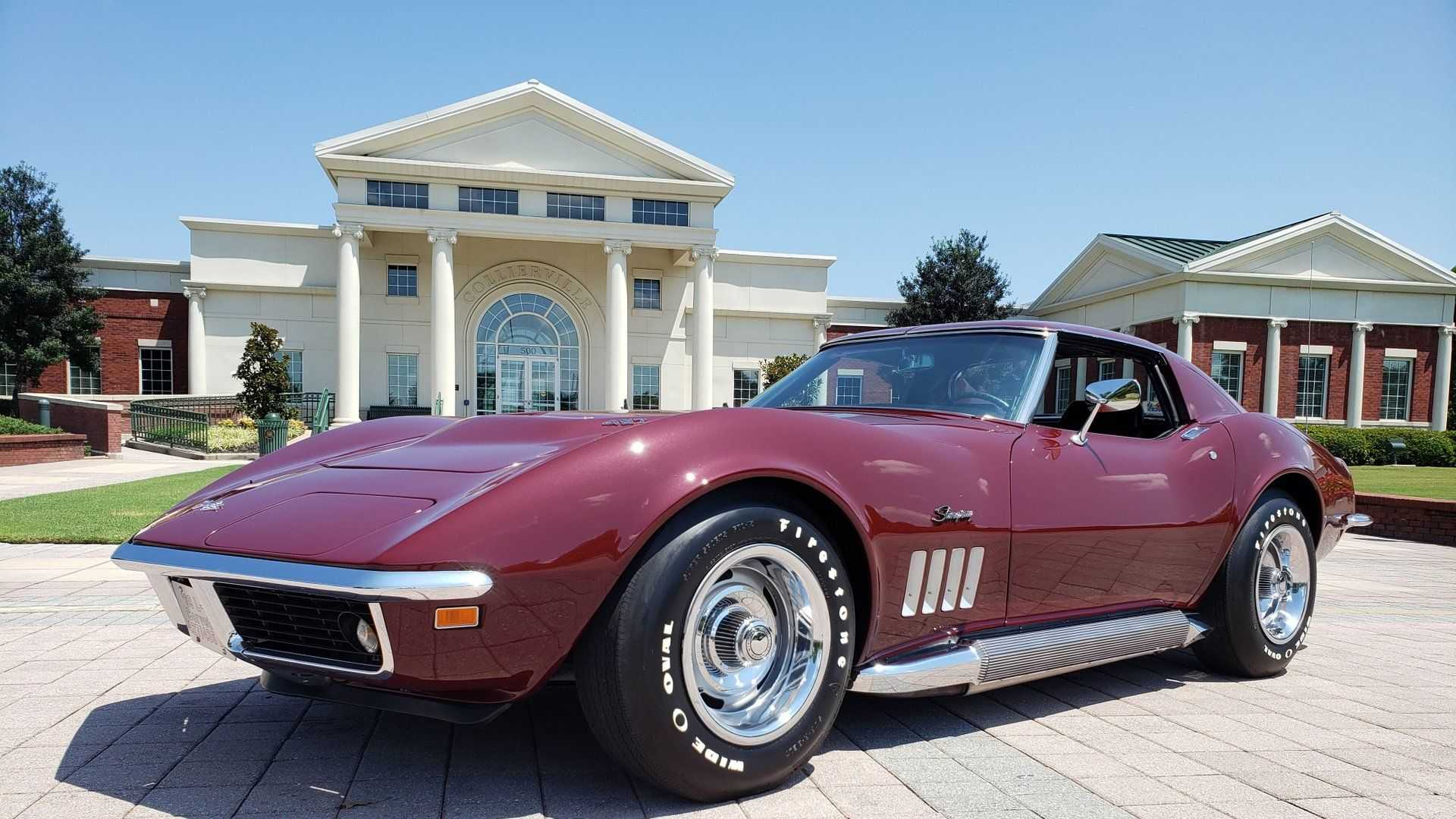 "[""1969 Chevy Corvette Stingray Boast NCRS Top Flight Status""]"