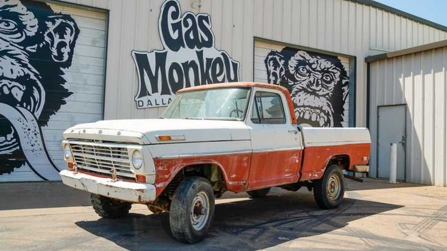 Bid On This 1969 Ford F100 SWB 4x4 Project Truck From Gas Monkey Garage