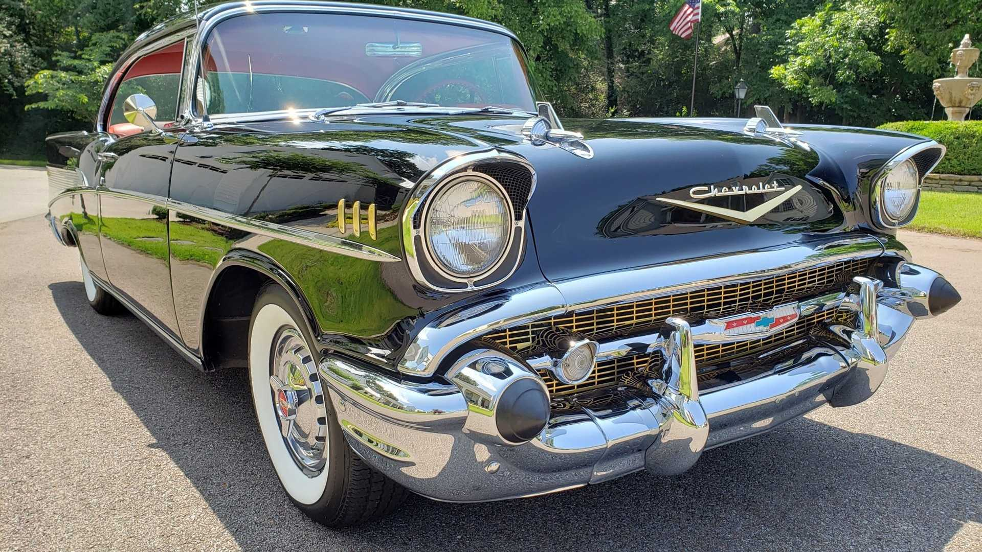"[""1957 Chevrolet Bel Air Is A High-Quality Resto Hardtop""]"