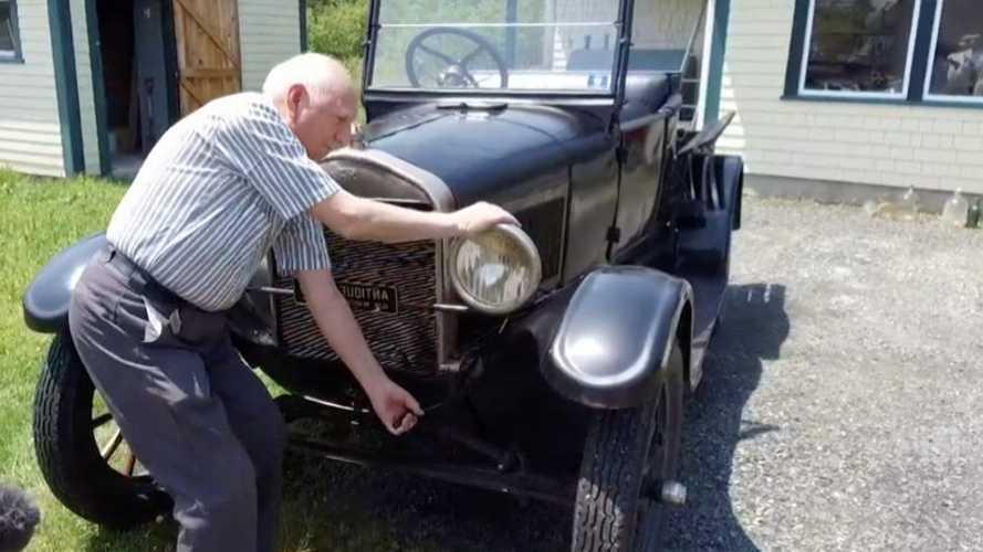 Канадец проездил на Ford Model T более 70 лет