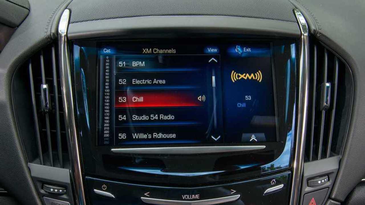 2015 Cadillac ATS Touchscreen