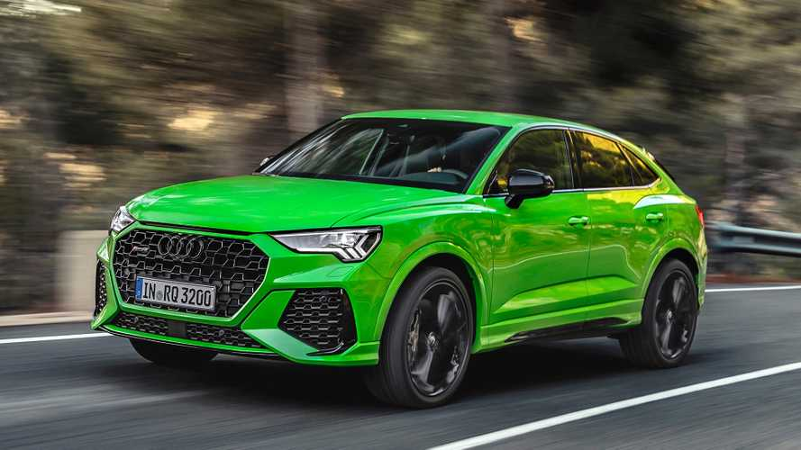 Audi RS Q3, Sleeker Sportback Arrive With 394 HP, Hit 60 In 4.5 Seconds