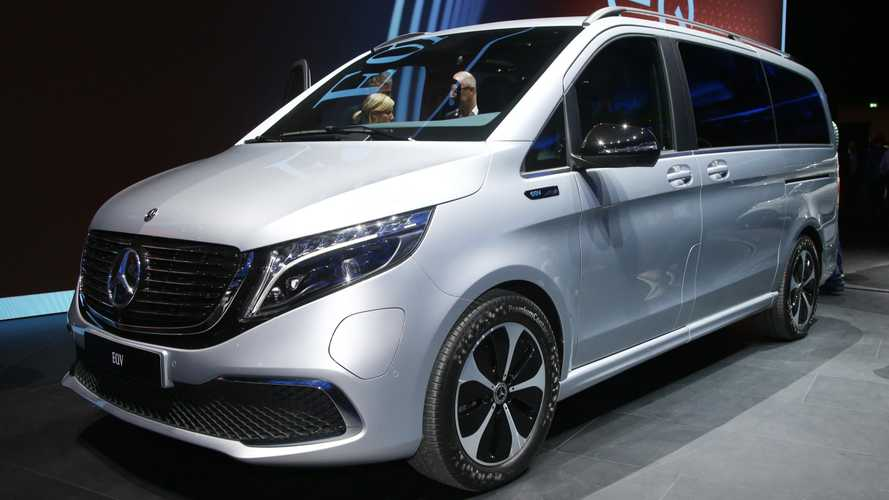 Mercedes-Benz EQV At The Frankfurt Motor Show: Photos/Videos