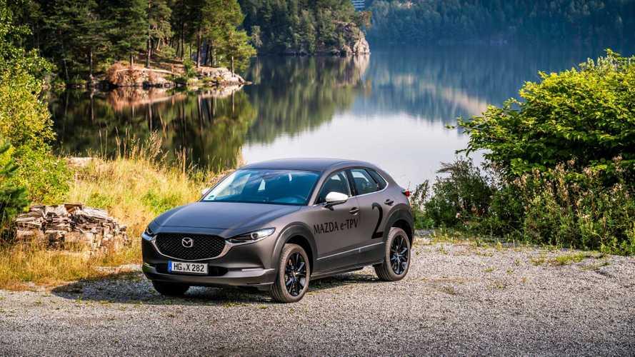 Mazda тоже обзаведется электрокроссовером