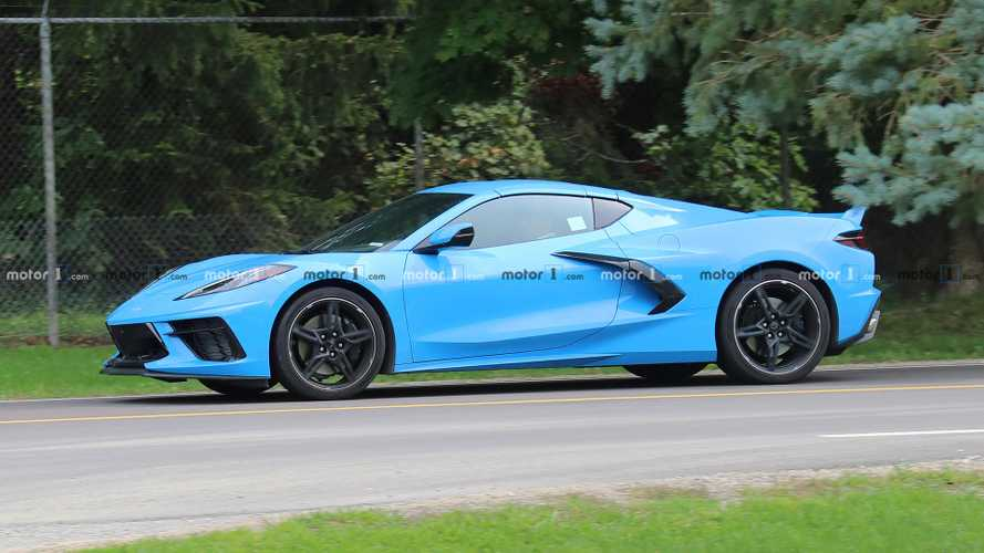 Chevrolet Corvette C8 Rapid Blue | Motor1.com Photos