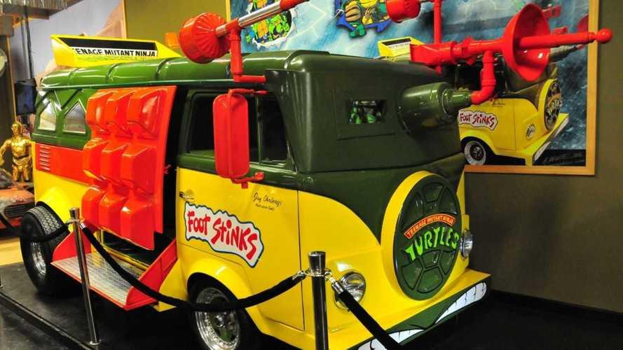 Relive Childhood Fantasies With The Ninja Turtles 1957 Volkswagen Vanagon