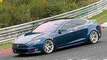 Tesla Model S am Nürburgring wohl schon schneller als Porsche Taycan