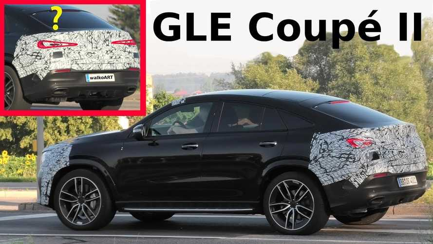2020 Mercedes GLE Coupe seen with minimal camo, reveal coming soon?