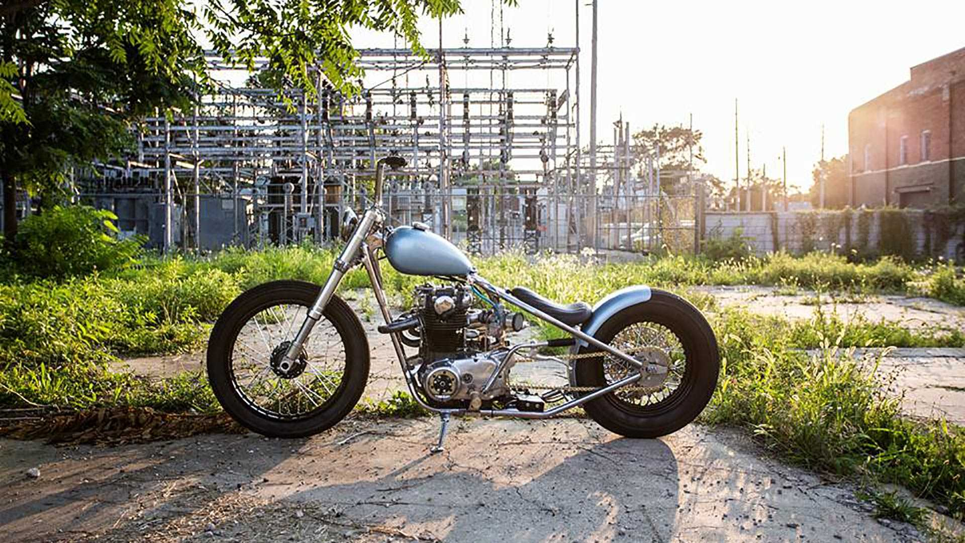 Custom Bobber Blues With This Modified 1972 Yamaha XS650