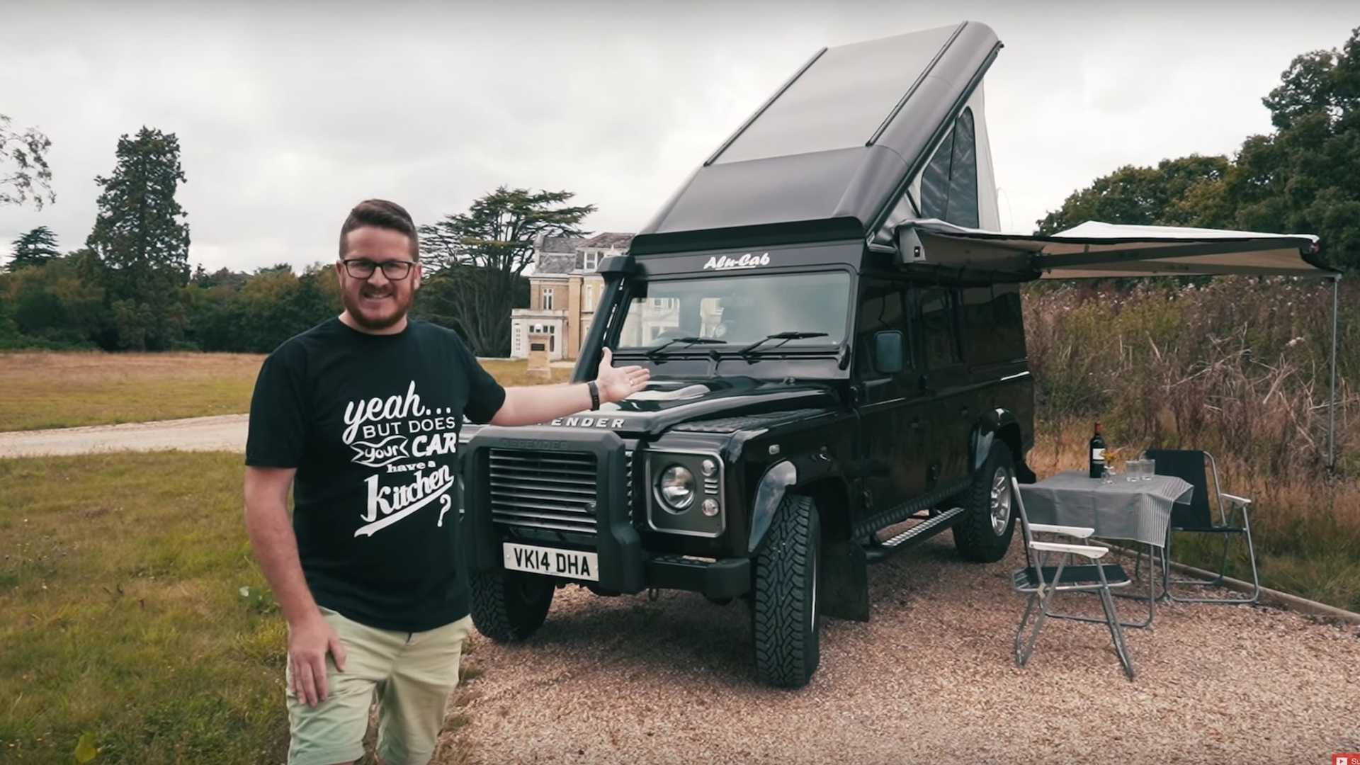 Land Rover Defender camper can really do it all