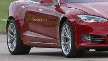Tesla Model S P100D+ Plaid Tires