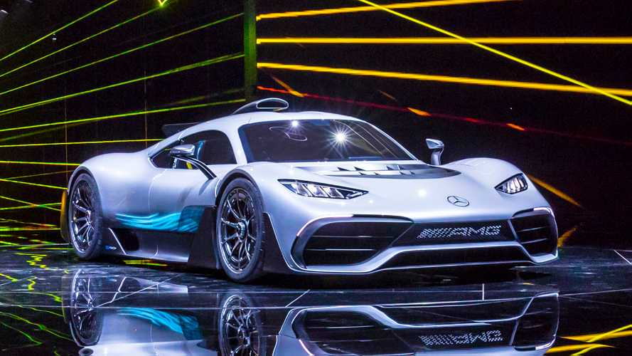 Rare Chance To Hear The Mercedes-AMG One, Sounds Like An F1 Car