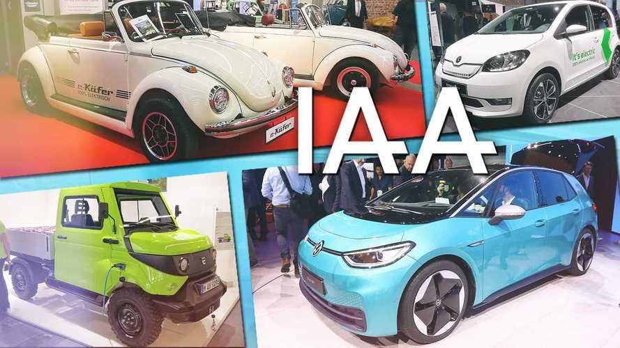 IAA 2019: Die neuen Elektroautos