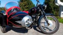 pannonia csepel hungarian sidecar motorcycle