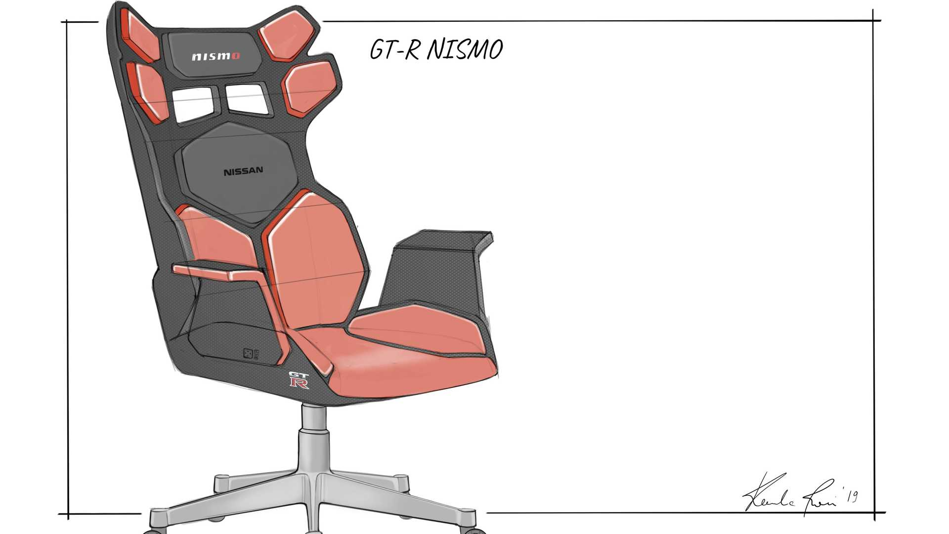 Nissan Sketched Some Sweet Gaming Chairs, But Will They Build Them?