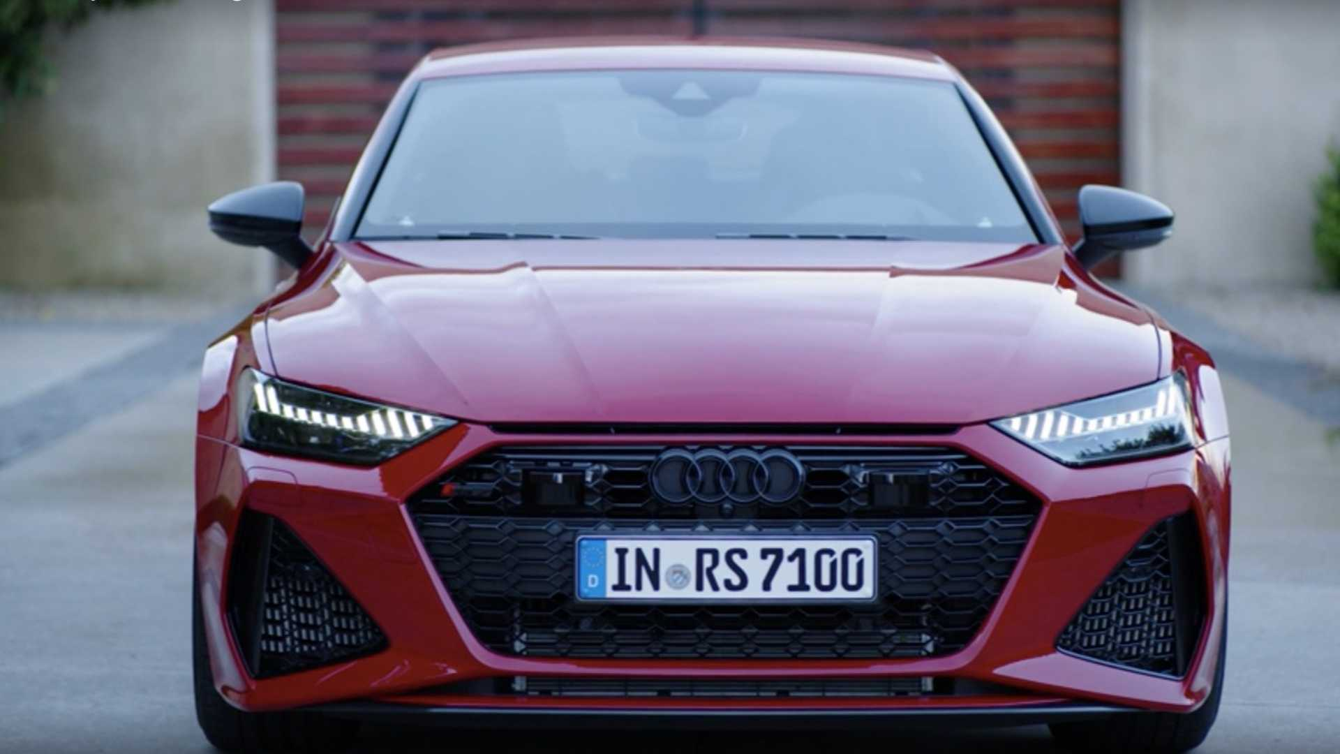 Audi RS7 Sportback looks like the whole package in official video
