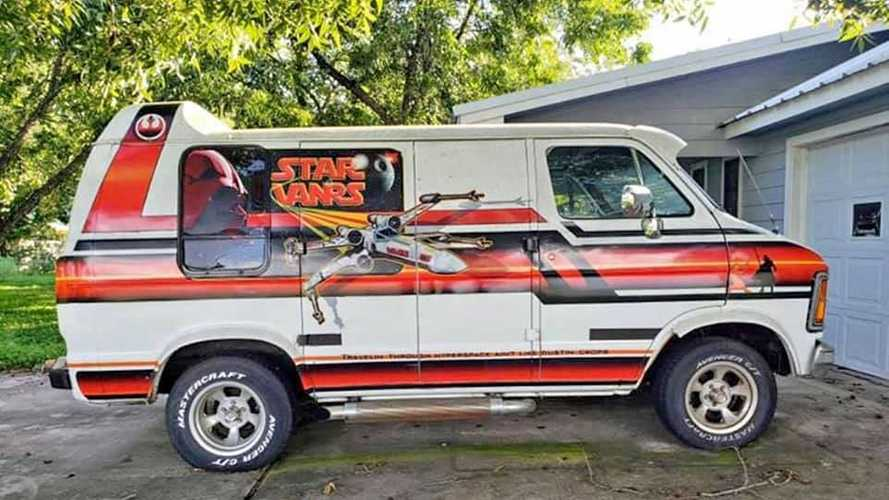 Ultra Rare, Original Star Wars Conversion Van Surfaces For Under $10K
